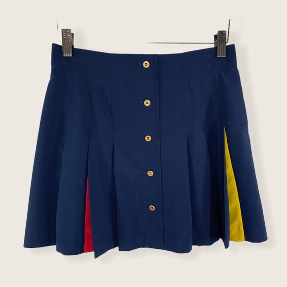 Vintage Tail Pleated Tennis Skirt